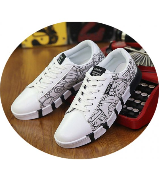 MS110 - Casual Korean fashion canvas shoes