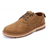 MS155 - Brown Canvas Shoes