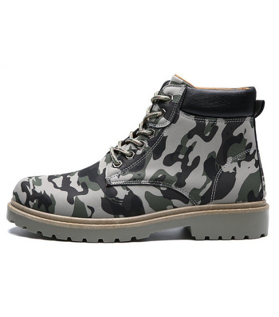 MS170 - Men's camouflage Ankle Boots