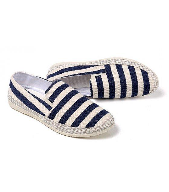MS182 - Breathable linen bean shoes