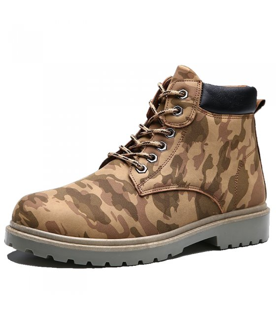 MS186 - Trendy Military Boots