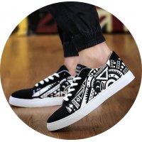 MS224 - Graffiti strap shoes