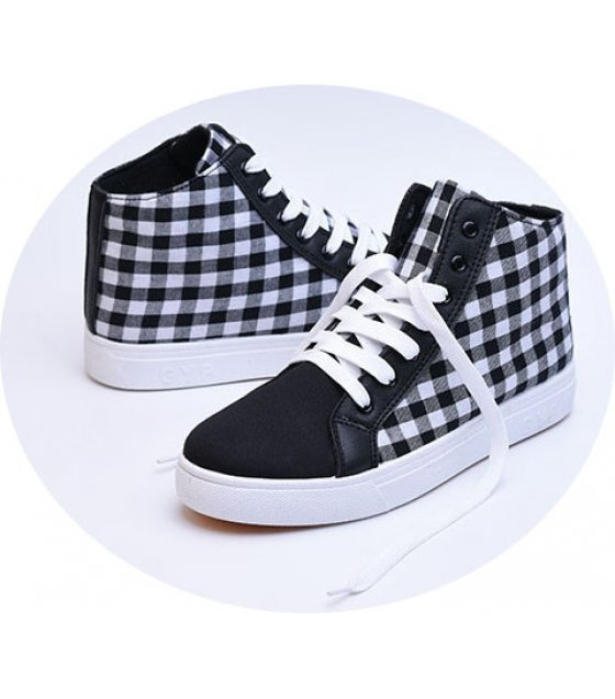 MS250 - High-top canvas shoes