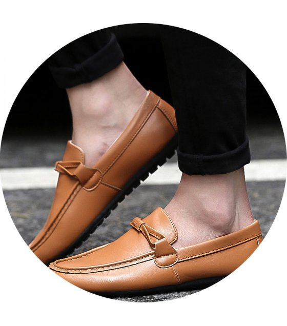 MS302 - Casual Brown Shoes