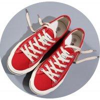 MS337 - Canvas flat shoes