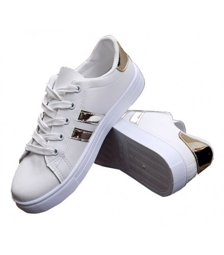MS401 - Casual sports white shoes