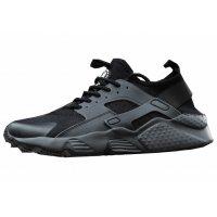 MS419 - Autumn Black fashion Canvas shoes