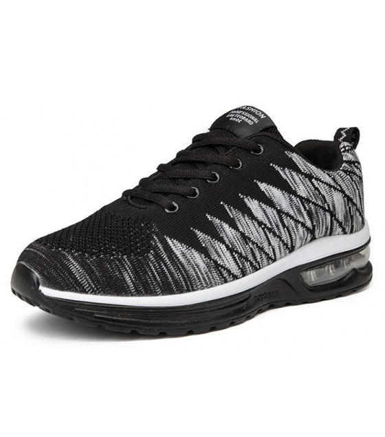 MS421 - Black Korean Fashion Sports Running Shoes
