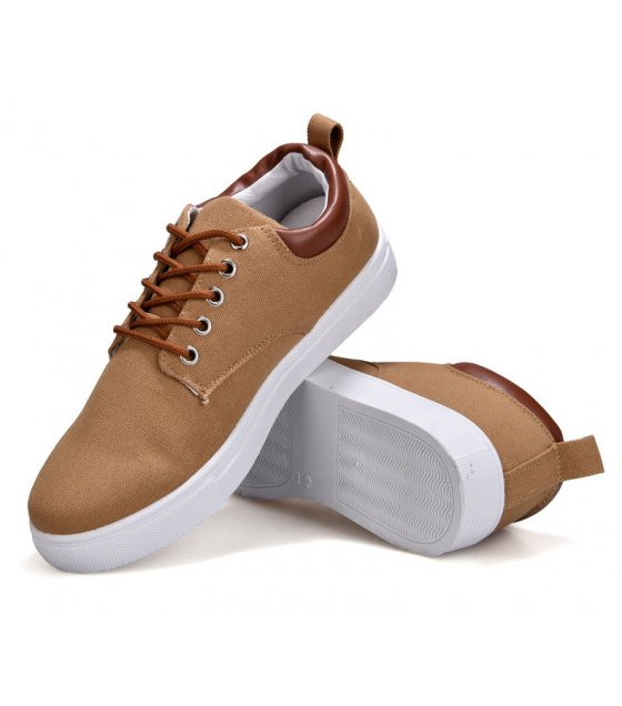 MS425 - Casual Plain Breathable Casual Canvas Shoes