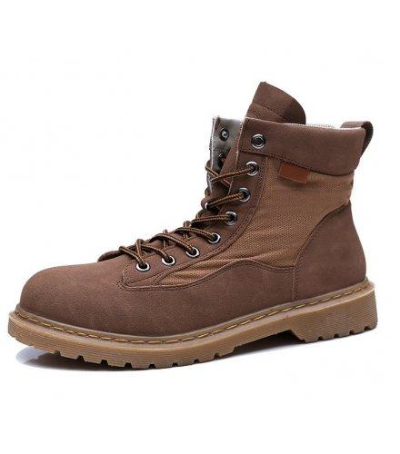 MS543 - Stylish Lace Up Boots