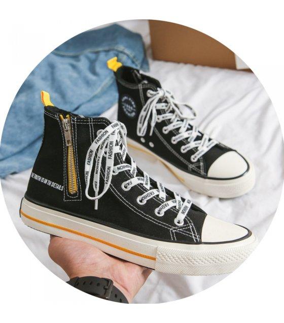 MS558 - Autumn zipper casual shoes
