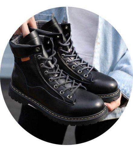 MS583 - Stylish Lace Up Boots