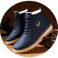MS593 - High-top cotton Boots