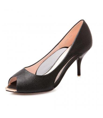 SH005- - Summer Fish Head Style Heels