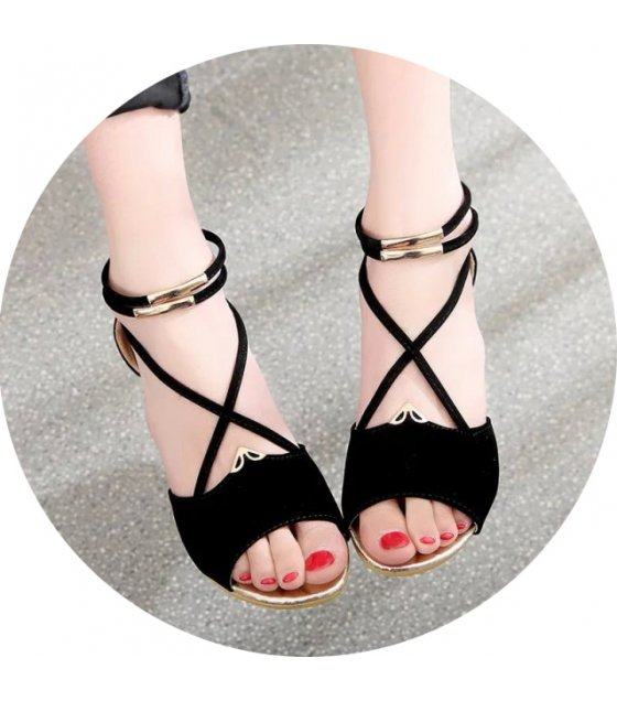 SH053 - Summer Zipper Flat Sandals