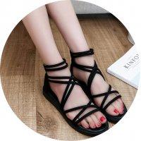 SH054- Romanian Style Flat Shoes