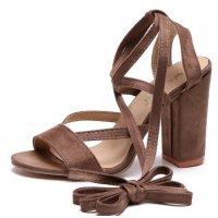 SH055 - High-heeled strap sandals