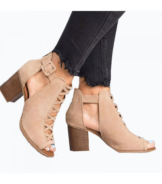 SH070 - High Heel Roman Shoes