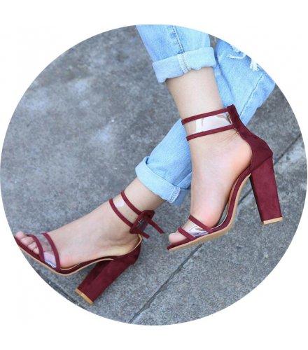 SH078 - Rome crystal belt buckle Heels