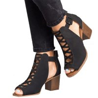 SH083 - High-heeled Roman Shoes