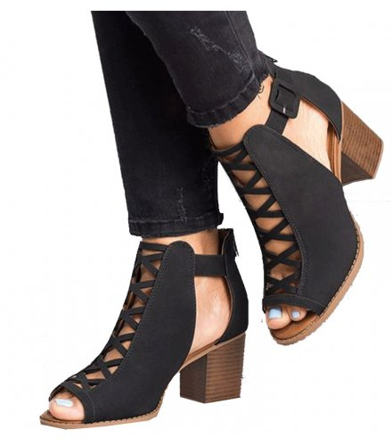 SH083 - High-heeled Roman Shoes