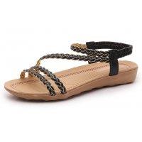 SH088 - Roman woven belt flat Sandals