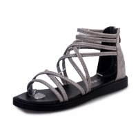 SH093 - Summer flat with slip open toe ladies sandals