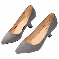 SH096 - Pointed Suede high heels