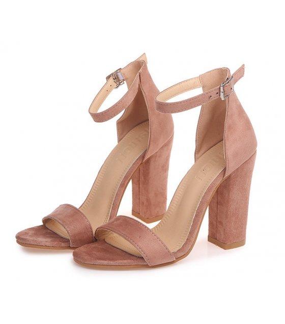 SH104 - Suede High Heeled women's shoes