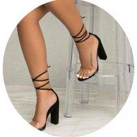 SH106 - Korean high-heeled sandals