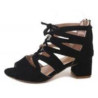 SH112 - Cross straps hollow Women's shoes
