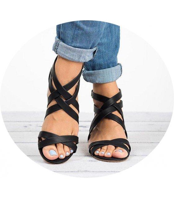 SH122 - Cross strap sandals women