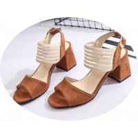 SH124 - Thick heel non-slip women's shoes