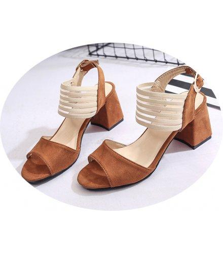 SH124 - Thick heel non-slip women's shoes