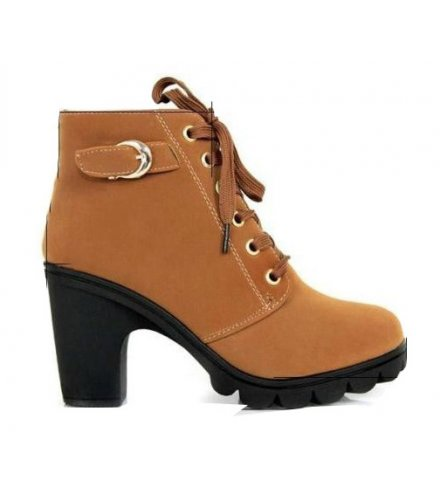 SH132 - Thick heel casual women's boots