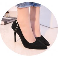 SH141 - Rivet pointed women's shoes