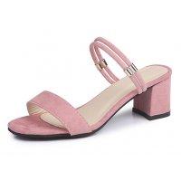 SH143 - Roman open-toe thick heel sandals