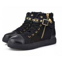 SH158 - Zipper rivets boots