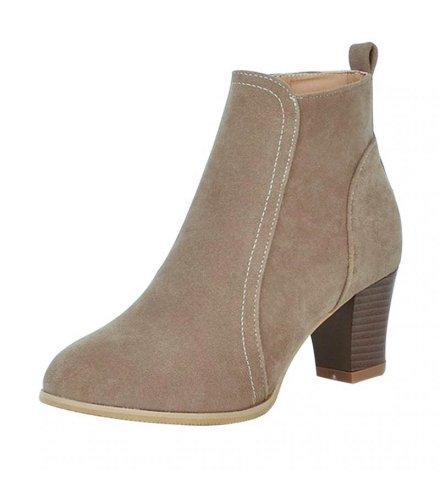 SH177 - Brown Women's Boots