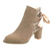 SH184 - High Heeled Martin Boots