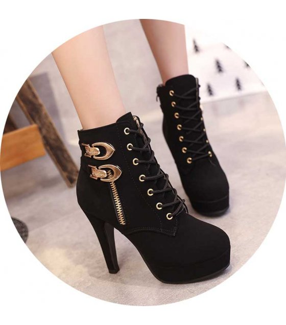 SH189 - Stiletto Heels Ankle Boots