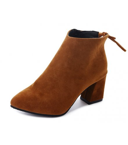 SH191 - Thick-heeled Martin boots