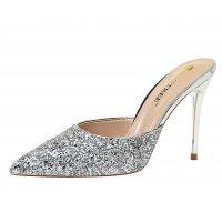 SH196 - Fashion simple metal heel stiletto high heel