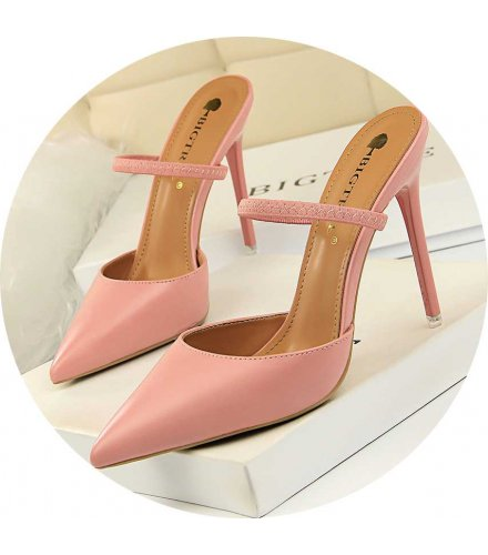 SH197 - Retro simple Baotou slippers