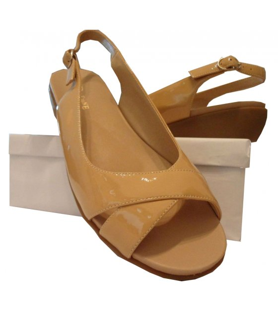 SH211 - Cross Strap Wedge Sandal