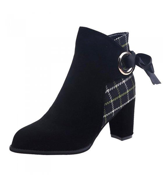 SH225 - High Heeled Martin Boots
