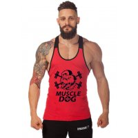 SA052 - Muscle Dog Gym Skinny