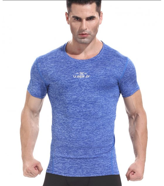 SA057 - Blue Slim Fit Tee