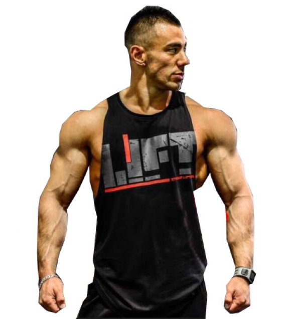 SA073 - BODYBUILDING MUSCLE CASUAL TANK TOPS
