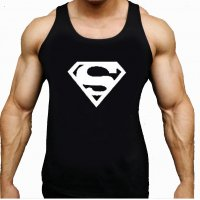 SA083 - Superman Gym Tank